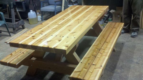 Custom Picnic Tables and Benches
